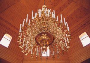 لوستر برنزی - قصر نور - انواع لوستر برنزی