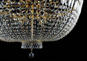 انواع لوستر برنزی - قصر نور